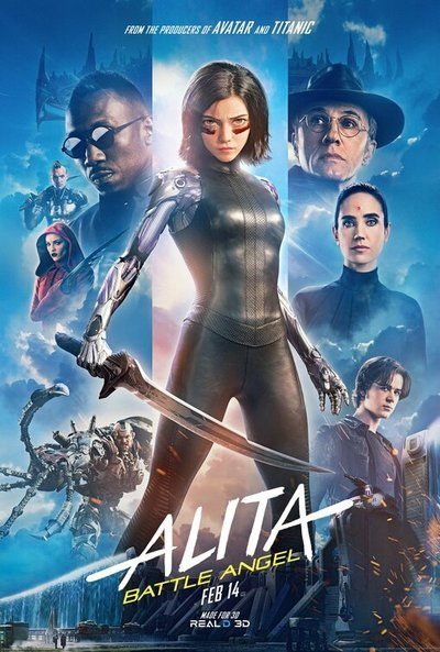 Alita: Battle Angel (2019)見てきました